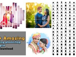 150+ Amazing wedding photoshop mask free download psd