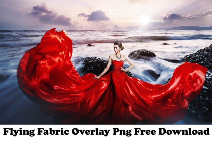Flying Fabric Overlay Free Download.