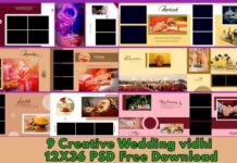 9-Creative-Wedding-Album-Vidhi-PSD-12X36-Free-Download