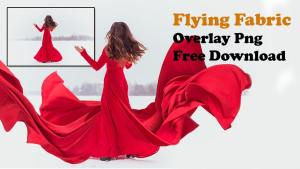 Flying Fabric Overlay Png Free Download