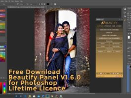 beautify panel Free Download Photoshop .