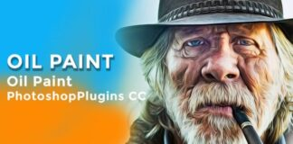 Oil Paint Plugin photoshop plugin free download