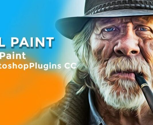 Oil Paint Plugin photoshop plugin free download