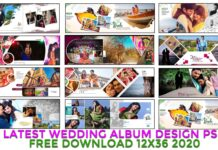 Wedding Album Design psd ac