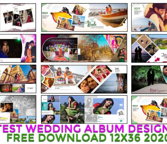 Wedding Album Design psd ac