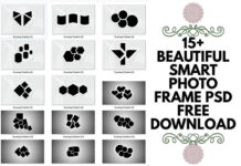15+ beautiful smart photo frame psd free download