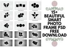 15+ beautiful smart photo frame psd free download