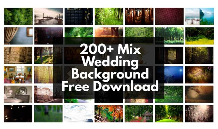 200+ Mix Wedding Background Free Download