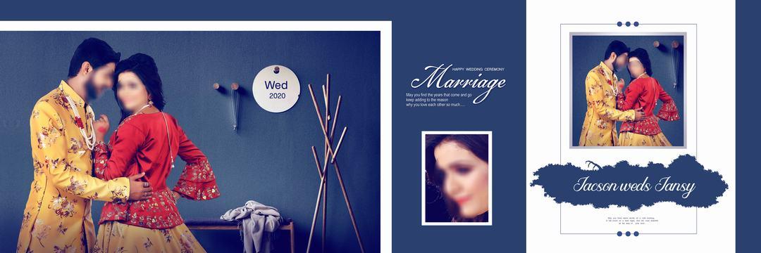 wedding dm psd 12x36 free download download