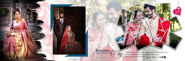 30 Creative Wedding Album Design psd free download 12x36