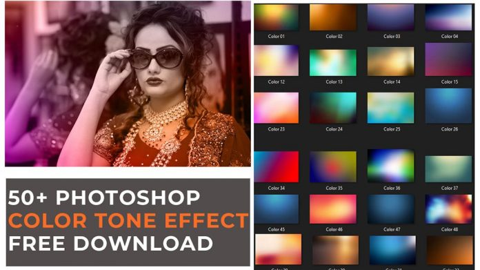 50+ Photoshop color tone effect free download